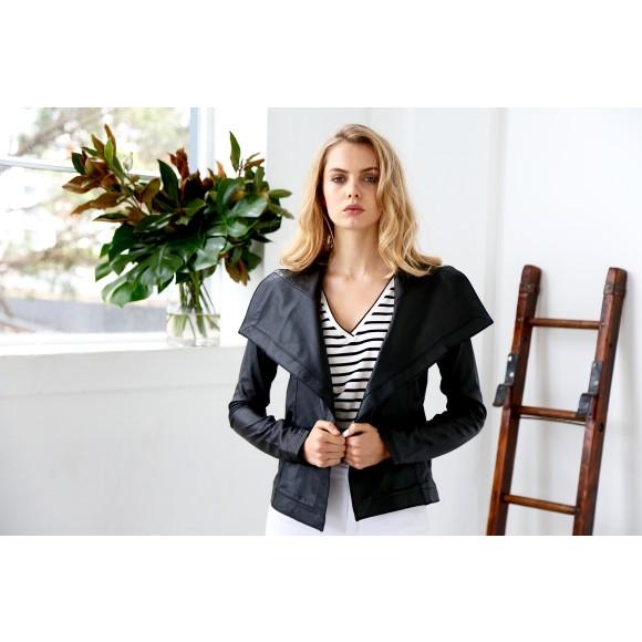 2NDSKIN London Leather Jacket