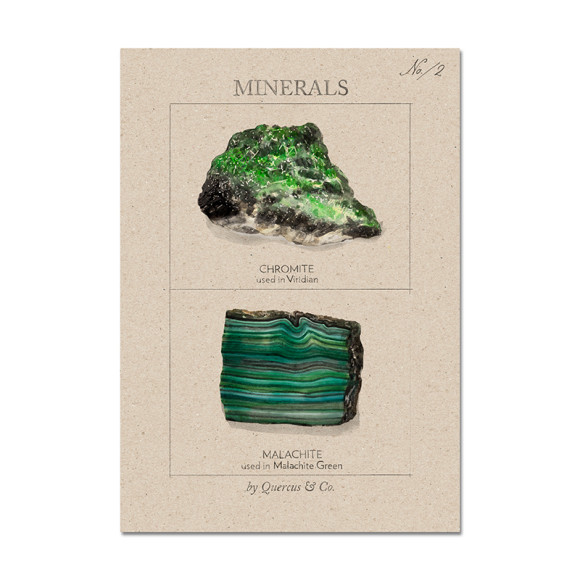 Minerals #2 - size A4