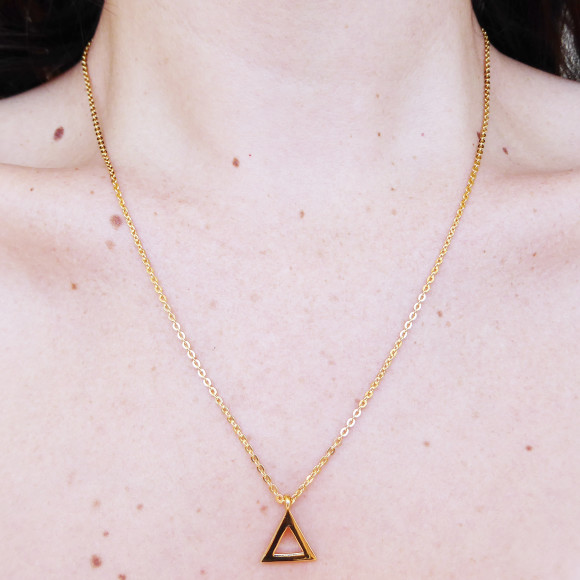 Triangle Necklace Model