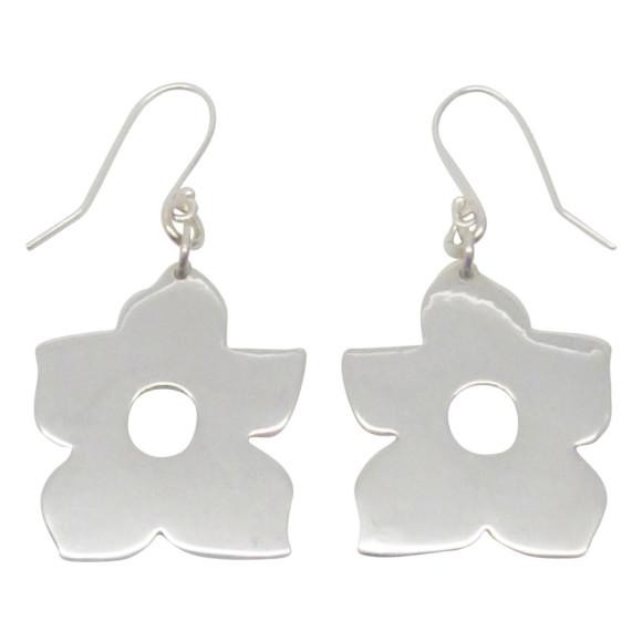 Flower earrings