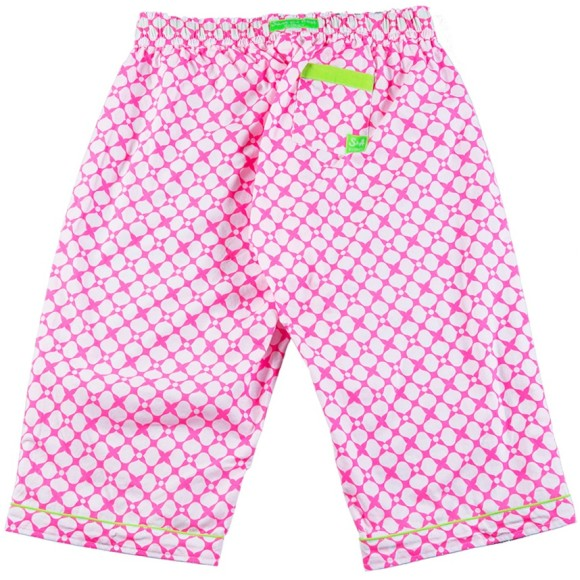 Pink sleep shorts