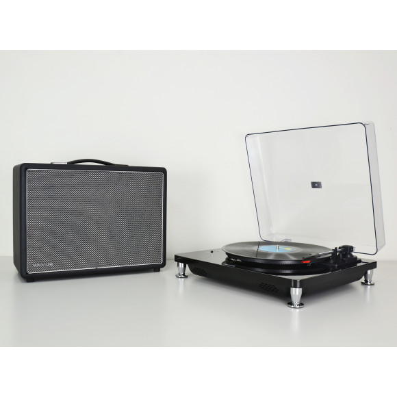 Black with FREE HolySmoke Turntable Black