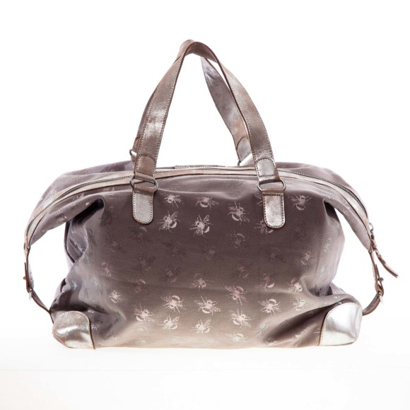 Savannah overnight bag grey back
