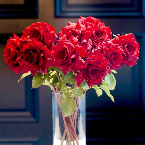 red double bouquet