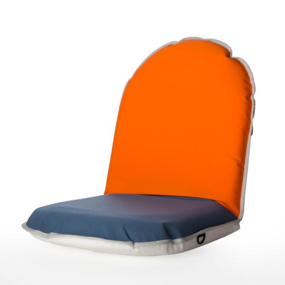 Orange/Naval Blue
