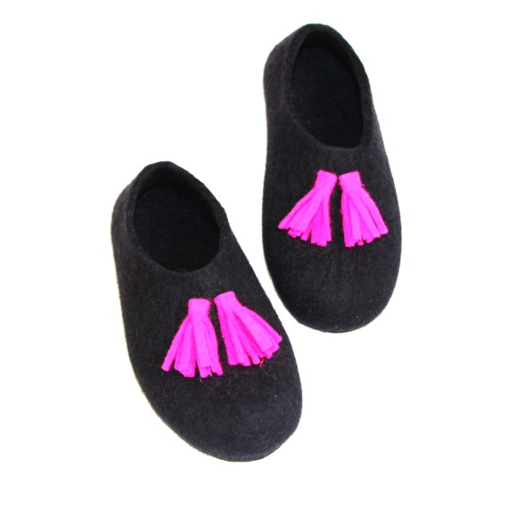 felt house shoes
