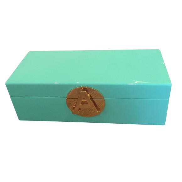 Aqua Jewellery Box