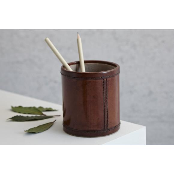New round shape pen pot