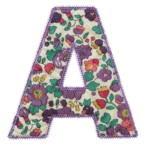 Purple Betsy Ann Liberty Print