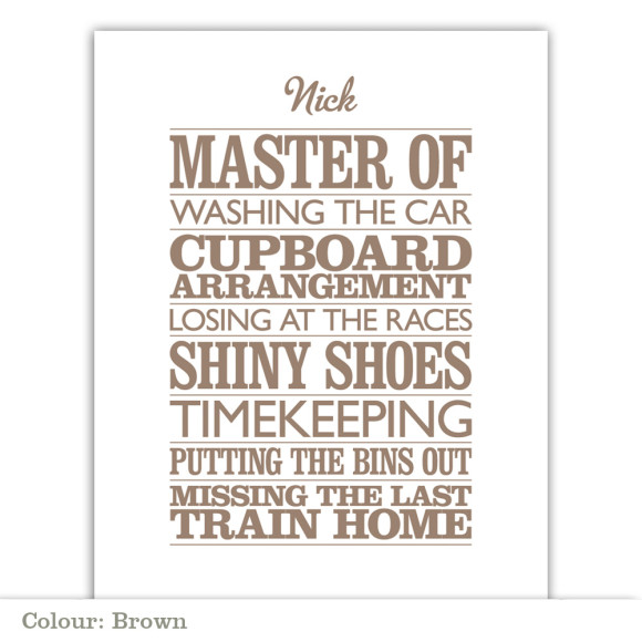 Master Of - Brown