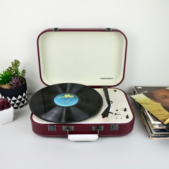 Crosley Coupe Turntables - Cabernet