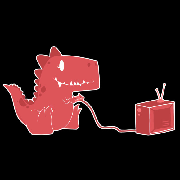 Gamesaurus Ruby Tee