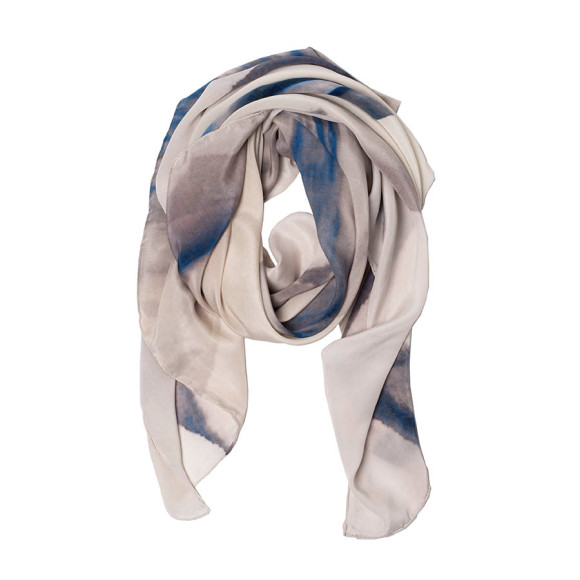 Skyline Silk Scarf