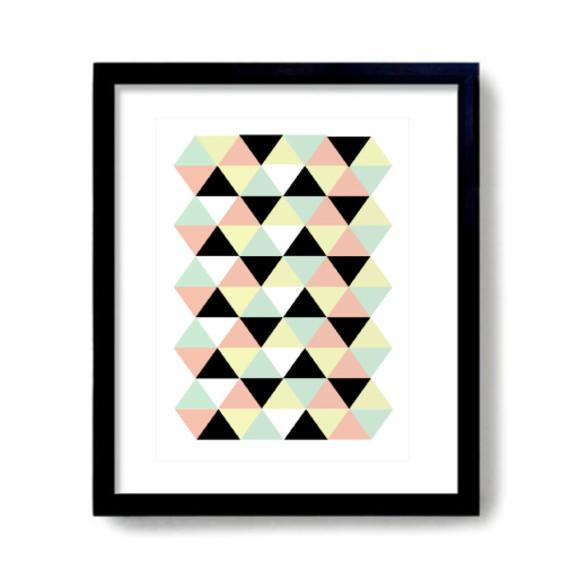 Pastel print