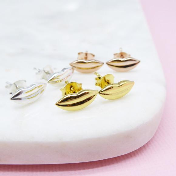 lip stud earrings