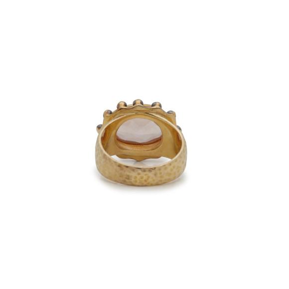 Rose Quartz Signature Ring
