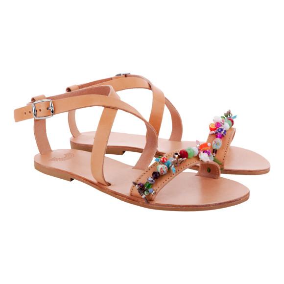 handmade strappy sandals