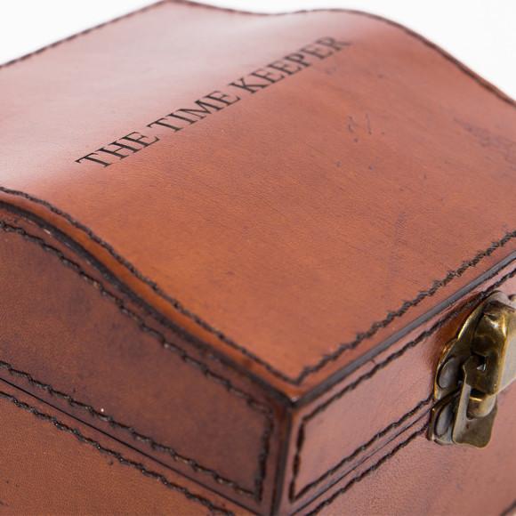 Personalised Leather Stud Box