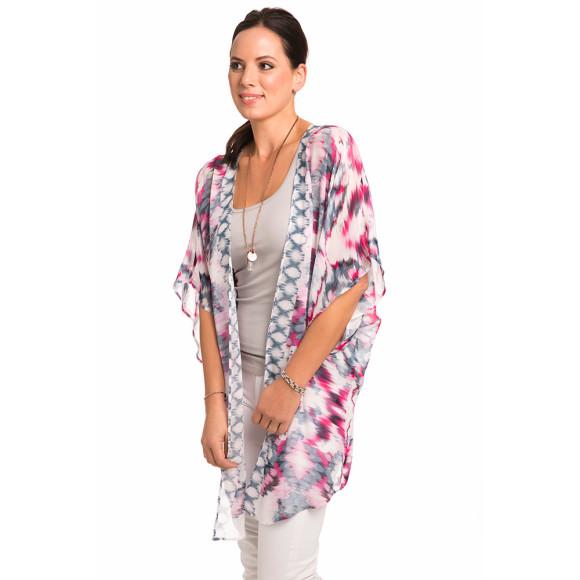 Diamond Pastel Kimono