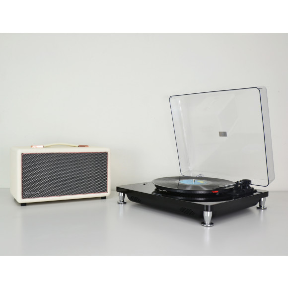 White - with FREE HolySmoke Turntable Black