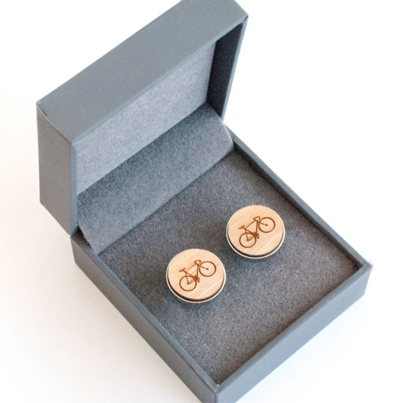 Cufflink box (bike cuffs not included)