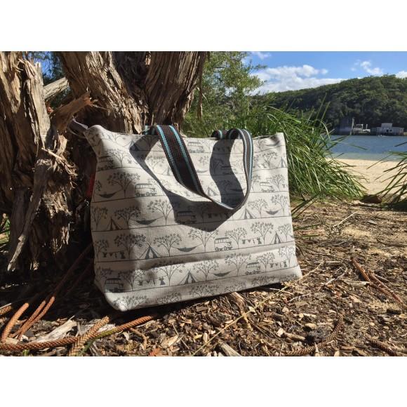 Tamelia Camping Tote Bag