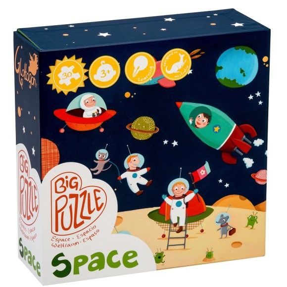 Space puzzle GLOTTOGON