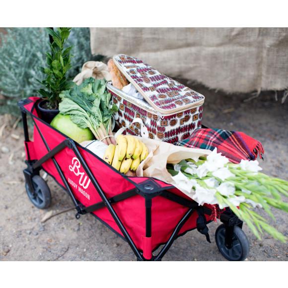 Buddy Wagon Folding Trolley Cart Hardtofind