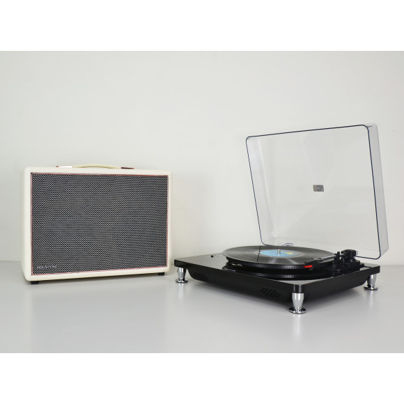 White with FREE HolySmoke Turntable Black