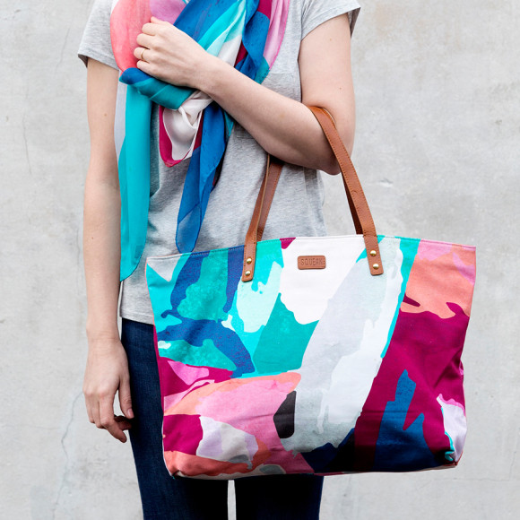 Abstract Shopper Bag