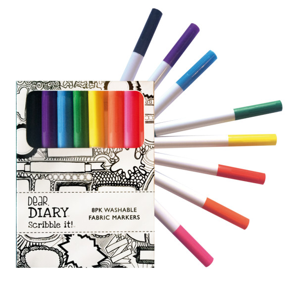 8pk Washable markers
