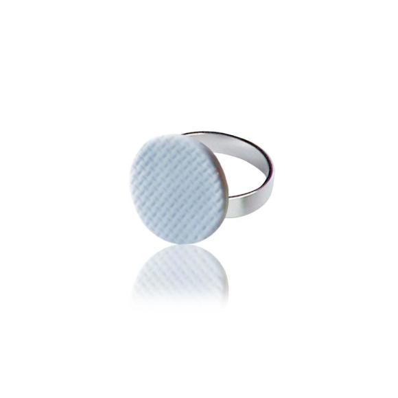 Lilac Grid ring