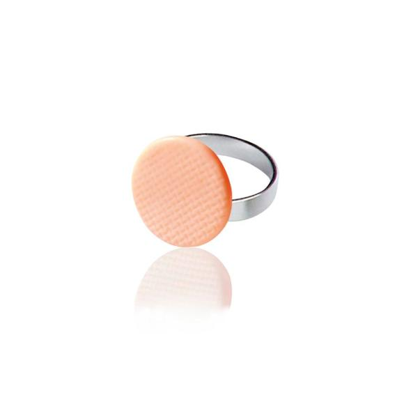 Pink Grid ring