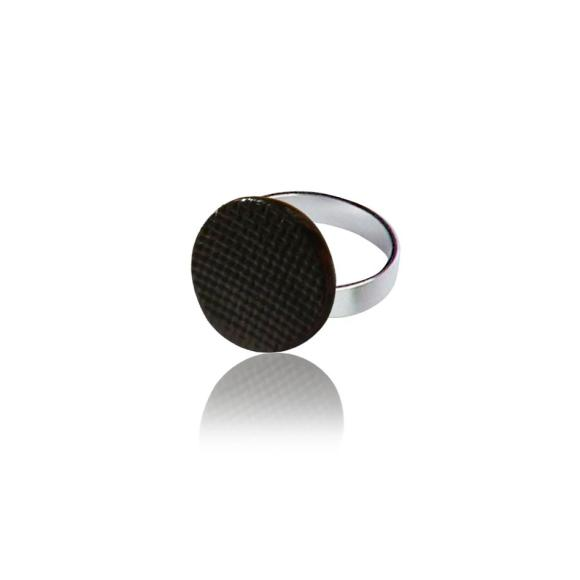 Black Grid ring