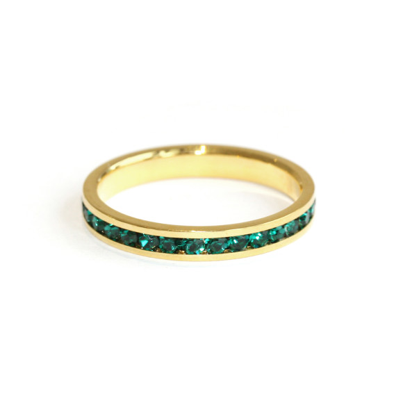 Emerald Green Ring