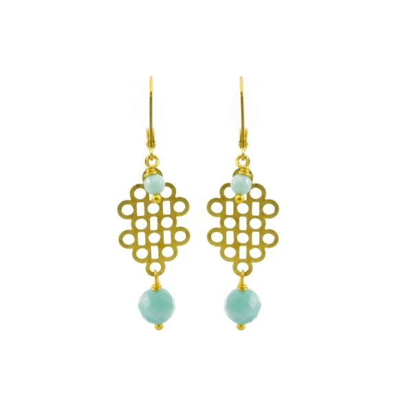 Sea day earrings