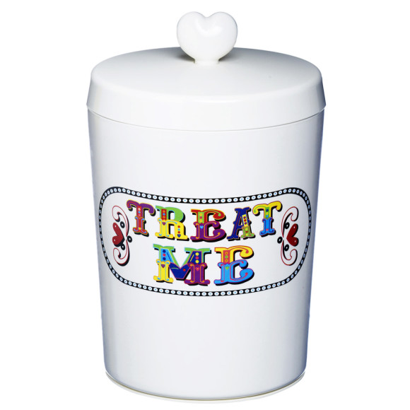 Dry pet treat jar