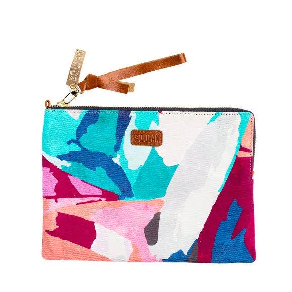 Abstract Large Pouch