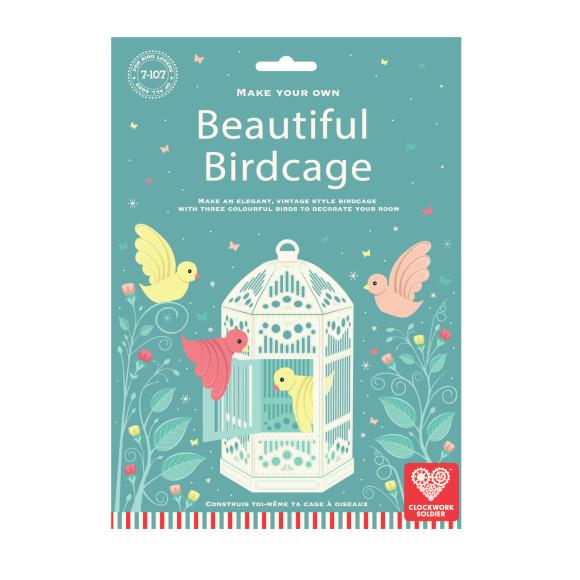 Paper birdcage