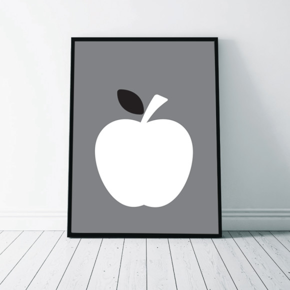Apple Art Print - 2