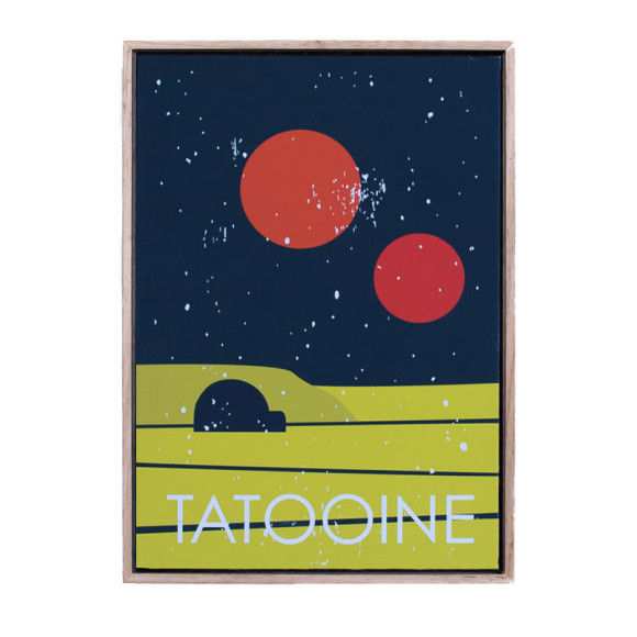 Tatooine in Oak Floater