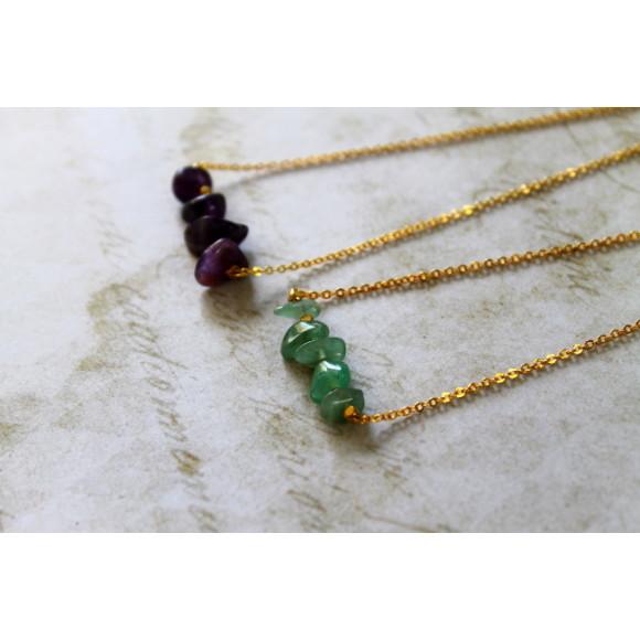 Amethyst/Amazonite
