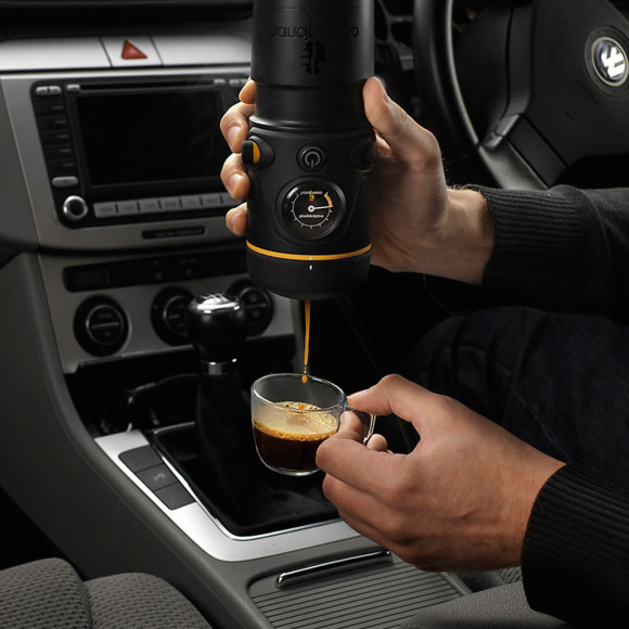 in car coffee maker