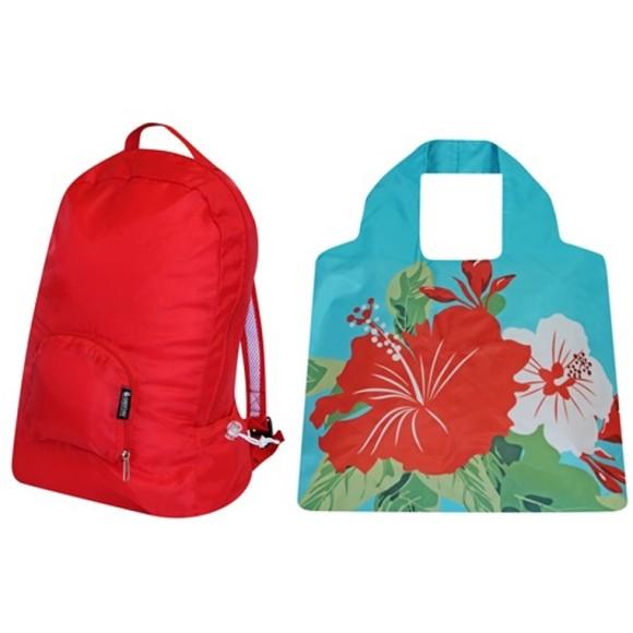 Red & Hibiscus set
