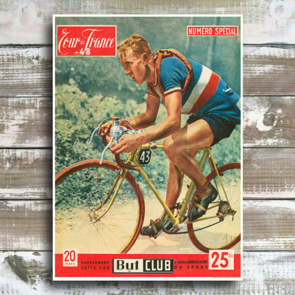 Tour de France 1948: Unframed