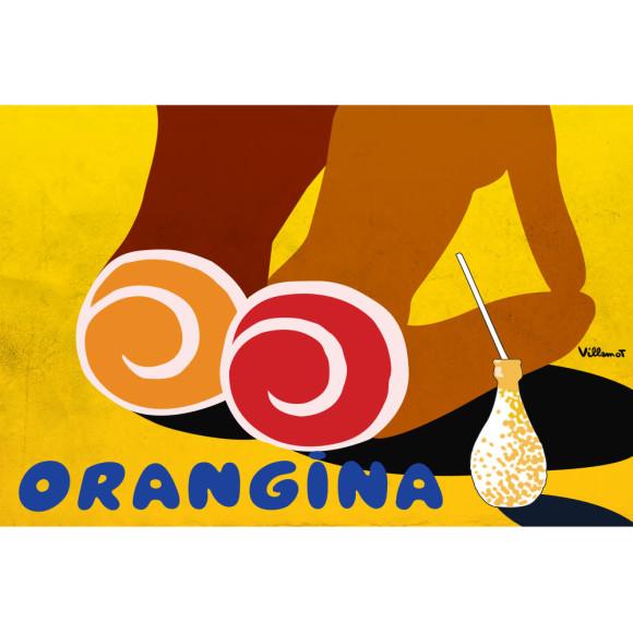 Orangina print