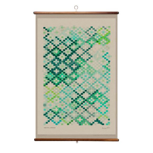 Emerald - 70 x 100cm