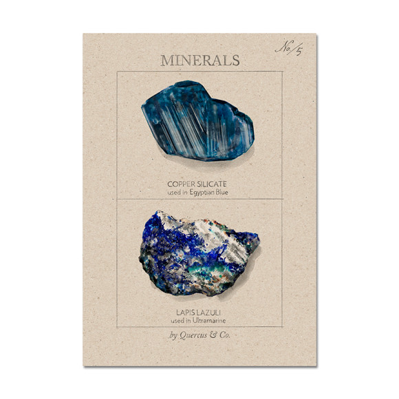 Minerals #5 - size A4