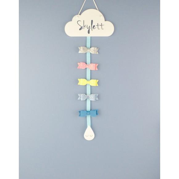 Blue Ribbon and Sleepy Raindrop