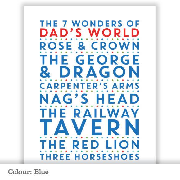 Seven Wonders - Blue